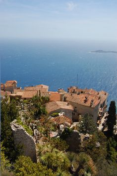 Eze, Cote D'Azur, France- the birds nest of the french riviera...beautiful