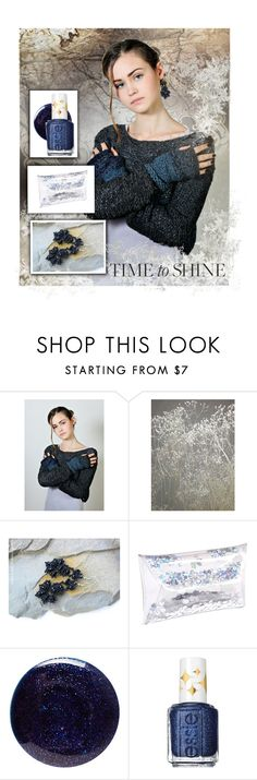 """Time to shine"" by landoflaces ❤ liked on Polyvore featuring Lauren B. Beauty and Essie"