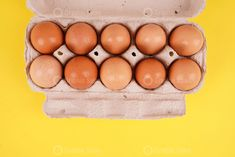 "$5.99 Brown eggs in a tray on yellow Brown eggs in a tray on yellow Stock Image Usage Information Photo ""Brown eggs in a tray on yellow"" for personal and commercial purposes according to the conditions of the purchased Royalty-free license. The image is available for download in high resolution quality 9504×6336. 61.0 MP License also includes multiple end products, plus unlimited copies and merchandise use.  Stock Photo Resolution:  9504 x 6336 Pixel 80.46cm x 53.64cm (300 DPI) 31.68″ x 21. Brown Eggs, Graphic Design Templates, Yellow And Brown, Royalty Free Photos, Commercial, Tray, Creative, Products, Photography"