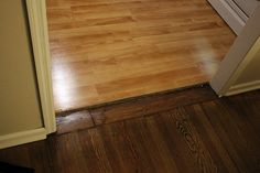 [Instructions] Installing a transition from one room to another #diy #home #home improvement
