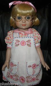 "Robert Tonner 18"" Ann Estelle Doll w Dress Glasses Shoes Mary Engelbreit Pretty   eBay"