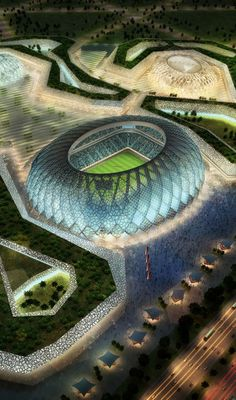 Proposed Stadiums for the 2022 FIFA World Cup - Qatar | Incredible Pictures