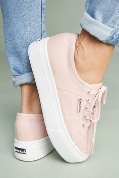 Slide View: 1: Superga Platform Sneakers