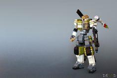 Army Mech (Ver.01) by Devid VII http://flic.kr/p/rQQenM