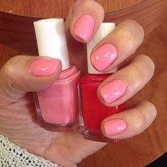 Essie's Knockout Pout is perfect for a pink spring