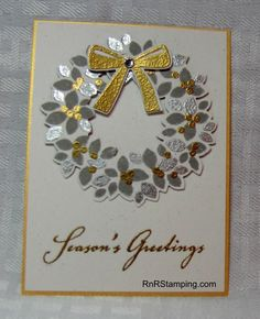RnR Stamping, Wondrous Wreath, Stampin Up                                                                                                                                                                                 More