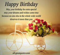 Happy Birthday Cards And Wishes Image On We Heart It