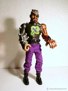 Super Villano Doctor X, muñeco Action Man - Año 2000  - Hasbro internacional