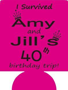 Lot 12 personalized Birthday koozies by odysseycustomdesigns, $29.99