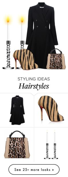 """Love this mix!"" by chiqiyoly on Polyvore featuring Orrefors, Givenchy, Christian Louboutin and Caroline De Marchi"