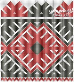 Cross Stitch Geometric, Bead Loom Patterns, Tapestry Crochet, Brick Stitch, Loom Beading, Pattern Books, Traditional Outfits, Folk Art, Design Inspiration