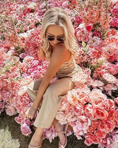 """kate // katelyn nicole on Instagram: """"this is what dreams are made of - today at #revolveinbloom 🌷💐🌸 @revolve @revolvebeauty @superdown"""""""