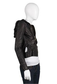Mike & Chris Dylan Black Leather Jacket