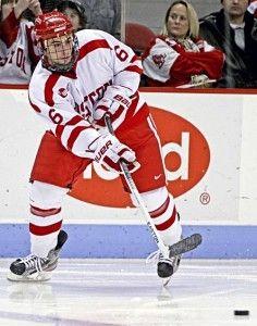Alexx Privitera playing for Boston University