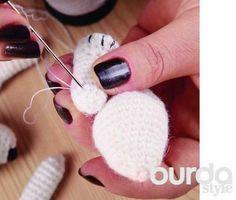 Описание вязания крючком игрушечного меде ведя из журнала «Добрые советы» №10/2013