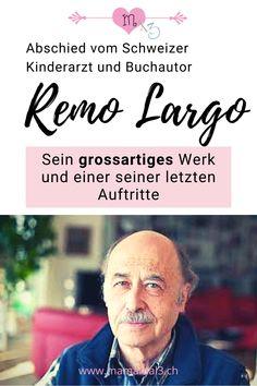 Vor 2 Jahren begegnete ich dem Schweizer Kinderarzt und Buchautor Remo Largo nach einem seiner letzten Auftritte in der Öffentlichkeit. Sein Werk (u,a. die Ratgeber Babyjahre, Kinderjahre und Schülerjahre) und seine umfassenden Studien zur kindlichen Entwicklung sind weltberühmt. Lest im Beitrag, was er zuletzt über die heutige Kindheit erzählte...