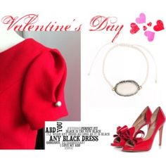 """Is it Februari already?"" by anyblackdress on Polyvore"