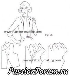 It is a good idea to look at the examples of model patterned blouse patterns :) :) . Blouse Patterns, Clothing Patterns, Sewing Patterns, Sewing Hacks, Sewing Tutorials, Sewing Projects, Techniques Couture, Sewing Techniques, Pattern Cutting