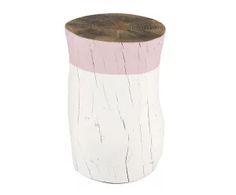"""Stolik pomocniczy """"Tronco Rosa Palo"""", Ø 30, wys. 30 cm"""