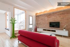 This looks like my kind of place to stay while traveling...might have to visit Barcelona sooner rather than later!  BRAND NEW PENTHOUSE WITH TERRACE in Barcelona