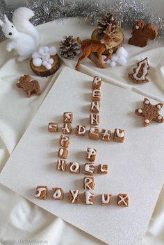 Petits pains d'épices à la crème de marron façon Scrabble (vegan, sans gluten)  • Cook A Life! by Maeva
