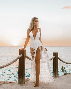 stylish clothes,newest fashion,hot new outfits,shop fashion Beach Vacation Outfits, Honeymoon Outfits, Mode Outfits, Sexy Outfits, Summer Outfits, Wedding Bikini, Beach Outfit For Women, Honeymoon Swimsuit, Tropical Outfit