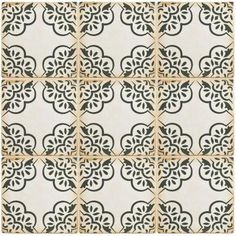 Merola Tile Archivo Ornate 4-7/8 in. x 4-7/8 in. Ceramic Floor and Wall Tile (5.9 sq. ft. / case)-FPEARCON - The Home Depot