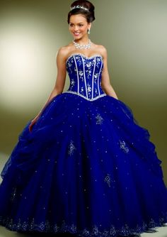Vizcaya Satin and Tulle Quinceanera Ball Gown by Mori Lee 87093 at frenchnovelty.com
