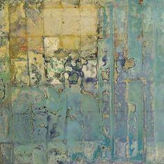 Sam Lock - Turquoise painting