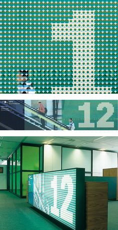 Interesting dot treatment in ths signage.  Ontwikkelingsbedrijf Rotterdam