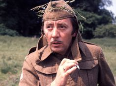 Stanley James Carroll 'Jimmy' Beck (1929-1973) as Private Joe Walker, the cockney spiv in 'Dad's Army'