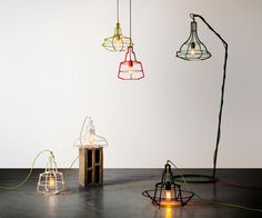 The Slims lighting collection: pure structure contour by  Studio Beam #design #product #lighting