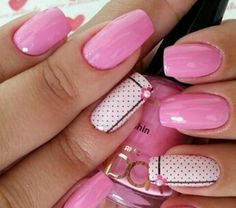Want some ideas for wedding nail polish designs? This article is a collection of our favorite nail polish designs for your special day. Read for inspiration Nail Art Designs 2016, Nail Polish Designs, Nail Polish Colors, Trendy Nail Art, Cute Nail Art, Cute Nails, Wedding Nail Polish, Cherry Nails, Plus Populaire