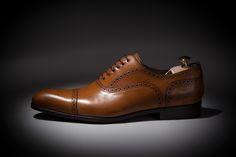 d13ce80fbd3 Chaussures Richelieu pour homme haut de gamme. Cousu Goodyear
