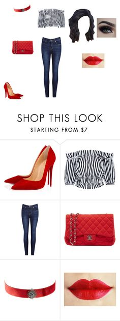 """Night out"" by elenatsr on Polyvore featuring Christian Louboutin, Chanel and Artisan"