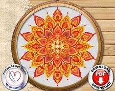 Сross stitch pattern embroidery designs by PatternDesignStudio