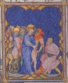 Petites Heures de Jean de Berry (folio 79v, 211 et 216)