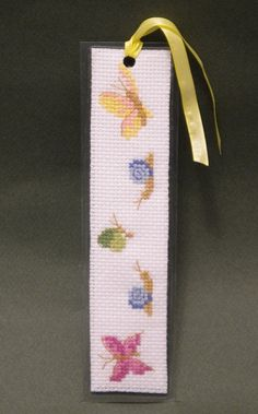 Cross Stitch Pattern Spring Bookmark by Ogusstudio by ogusstudio