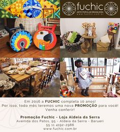 A nossa loja da Aldeia da Serra está cheia de móveis com 20% a 40% de desconto só durante esse mês. Venha nos visitar! O desconto é válido para todas as lojas, confira os endereços no site www.fuchic.com.br. // Our Aldeia da Serra store is full of furniture with 20% to 40% discount only during this month. Come visit us! The discount is valid for all stores, check the addresses at www.fuchic.com.br.  #fuchic #nafuchictem #lojafuchic #promoçãofuchic #fuchic10anos #aniversáriofuchic