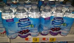 Nestle Pure Life Splash Fruit Flavored Water Just $.95 at Walmart!