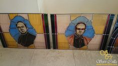 Kirchen, Frame, Home Decor, Chairs, Leaded Glass Windows, Coloured Glass, Stained Glass, Homemade Home Decor, A Frame