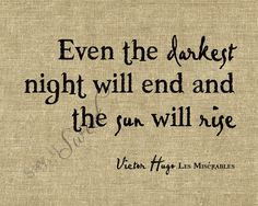 Victor hugo les miserables quote.