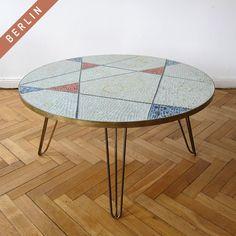 1950's MOSAIC COFFEE TABLE