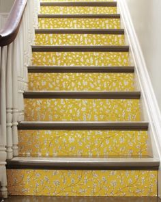 wallpaper stair risers - MSL