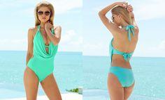 Bar III Draped Monokini One-Piece Swimsuit, Only at Macy's - Swimwear - Women - Macy's