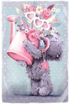 Birthday or Mother's Day Tatty Teddy, Birthday Greetings, Birthday Wishes, Birthday Cards, Happy Birthday, Et Wallpaper, Fizzy Moon, Teddy Bear Pictures, Blue Nose Friends