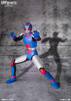 S.H.Figuarts - Kamen Rider RX Bio Rider / Akarenger (Red Ranger, Gorenger) Now Official!