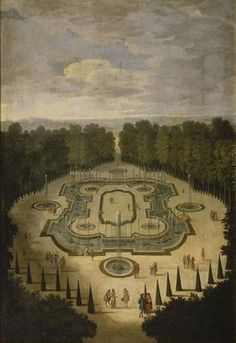 The Fountains of Versailles in the Time of Louis XIV: vue du bosquet de la Salle des Festins (Allegrain) Louis Xiv, Vita Sackville West, Versailles Garden, Palace Of Versailles, Gaudi, Monuments, Monet, Mairiporã Sp, Valley Of Flowers