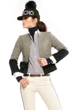 Vilagallo pantalon pedrería, camisa pedrería, chaqueta punto y piel Vilagallo embellished jeans, embellished