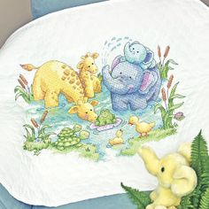 Little Pond Quilt - Cross Stitch, Needlepoint, Embroidery Kits – Tools and Supplies